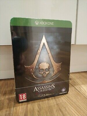 Assassins Creed 4 Black Flag Skull Edition Xbox One Game New And Sealed • 34£