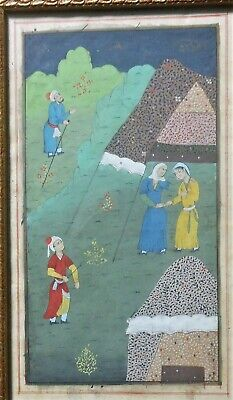 $225 • Buy Very Fine 18th Century Indo-Persian Water Color