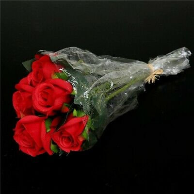 Valentines Day Romantic Gifts Ideas Her Sweet Rose Bundle (6 Stems) Red • 3£