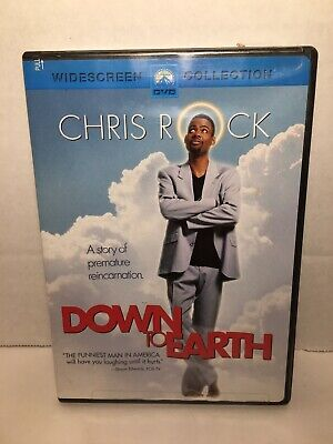 £3.53 • Buy DOWN TO EARTH DVD CHRIS ROCK Used