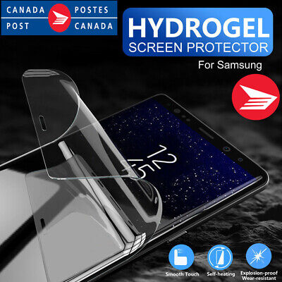 $ CDN4.99 • Buy For Samsung Galaxy S8 S9 S10 Plus S10E Full Coverage Hydrogel Screen Protector