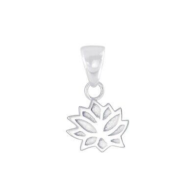$ CDN10.33 • Buy 925 Sterling Silver Lotus Flower Pendant Charm Kids Girls Women