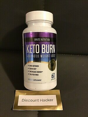 $10 • Buy Brute Nutrition Keto Burn Advanced Weight Loss (60 Capsules)