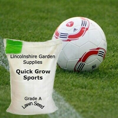 £17.95 • Buy Grass Seed.QUICK GROW SPORTS. In Packs To Cover From 20 Sq M  Upto 200 Sq M