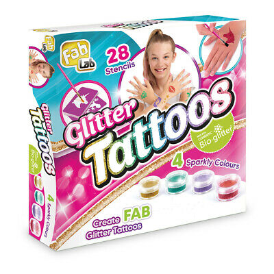 Fab Lab Glitter Tattoos Set • 9.89£