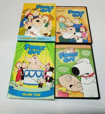 $ CDN11.55 • Buy Lot Of Family Guy DVDs - Volumes 1-4 Plus Freakin Sweet Collection