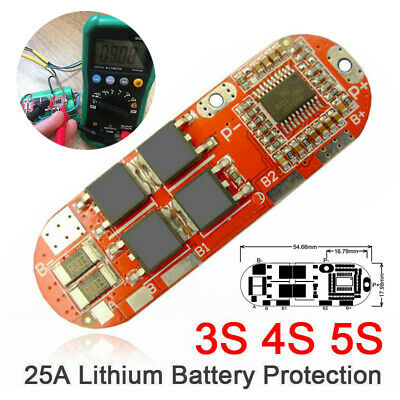 AU5.39 • Buy 3S/4S/5S 25A Lithium Battery BMS Protection Circuit Charging Board Tooll