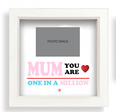 PERSONALISED YOU ARE ONE IN A MILLION Gift 3D Box Frame - GREAT GIFT • 12£