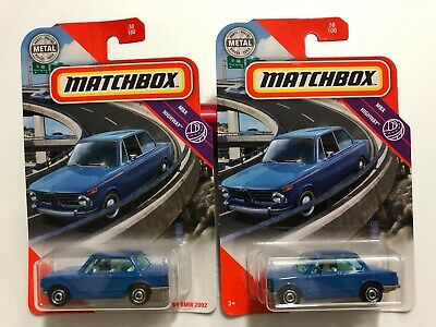 $7.99 • Buy 2020 Matchbox - '69 Bmw 2002 - Blue - Lot Of 2 - $7.99 Shipped!