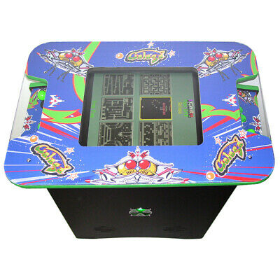 £749 • Buy Retro Arcade Cocktail Table Machine With 60 Retro Games - Galaga Themed
