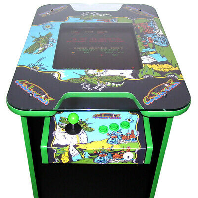 Retro Arcade Cocktail Table Machine With 60 Retro Games - Galaxian Themed • 699£