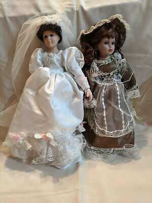 $ CDN4.05 • Buy Collector's Choice Porcelain Dolls By DanDee, Bride And Victorian