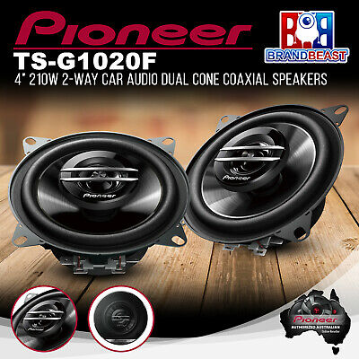AU35.38 • Buy Pioneer TS-G1020F 210W 4  2 Way Coaxial Speaker