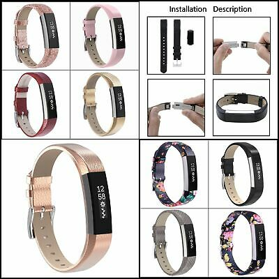 AU21.56 • Buy Leather Bands For Fitbit Alta Fitbit Alta HR, Classic Genuine Leather Wristband