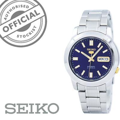 £109 • Buy Seiko 5 Automatic Blue Dial Silver Stainless Steel SNKK11K1 Mens Watch RRP £169