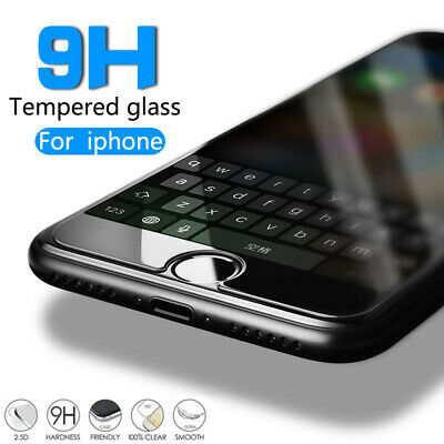 AU3.32 • Buy Tempered Glass Screen Film Protector For IPhone 13 12 11 Pro Max XR X 6 7 8+ SE