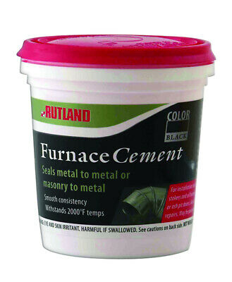 Rutland  Furnace Cement Pack Of 12 • 28.58£