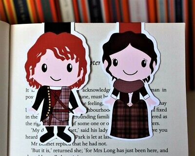 AU5 • Buy Outlander Magnetic Bookmarks | Jamie And Claire
