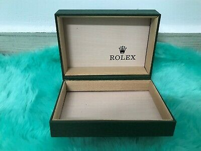 $ CDN60.07 • Buy Vintage Rolex Montres Watch Leather Jewelry Box Case Only 68.00.2
