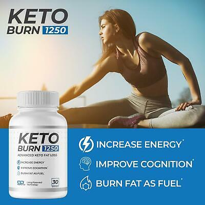$19.95 • Buy Keto Burn 1250 — Burn Body Fat As Fuel, Boost Energy And, Suppress Appetite