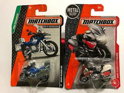 $9.99 • Buy Matchbox Bmw R1200 Gs & Bmw R1200 Rtv Police Motorcycle Lot - $9.99 Shipped