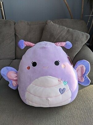 $ CDN32 • Buy Squishmallow 16 Inch Brenda The Butterfly Valentine's Exclusive Squishmallows