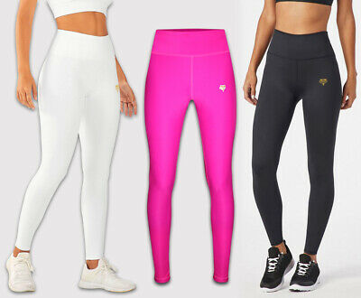 £9.99 • Buy Womens Yoga Gym Compression Leggings Long Sleeve Top Push Up Fitness Sport Pants