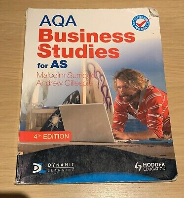 Aqa Business Studies For As Malcolm Surridge • 3.25£