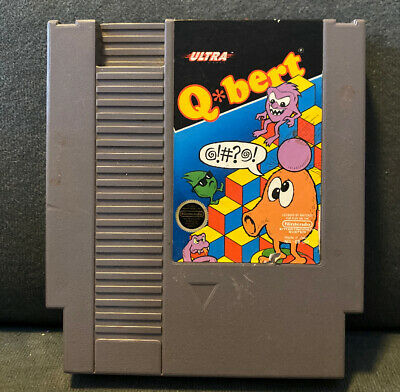 $ CDN8.88 • Buy Nintendo NES Qbert Game Cartridge By Ultra