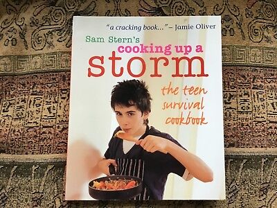 Sam Stern's Cooking Up A Storm Teen Survival Cook Book Stocking Filler • 2.25£