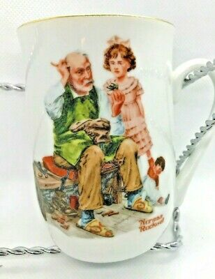 $ CDN14.75 • Buy Mugs Cup England Norman Rockwell Museum Authentic Mark Cobbler Bl