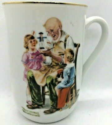 $ CDN14.75 • Buy Mugs Cup England Norman Rockwell Museum Authentic Mark Toymaker Bl
