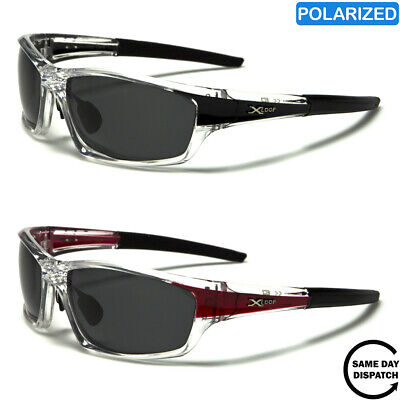 New Polarised Black XLoop Sport Running Wrap Mens Womens Unisex Sunglasses UV400 • 12.99£