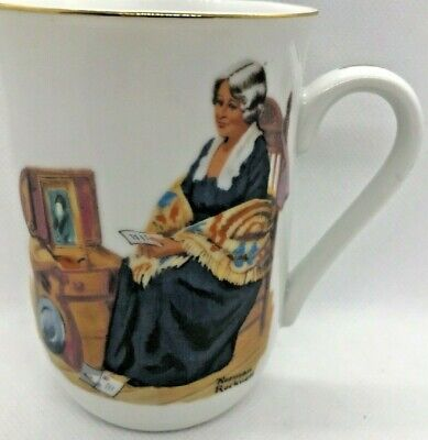 $ CDN14.75 • Buy Mugs Cup England Norman Rockwell Museum Authentic Mark Memories Bl