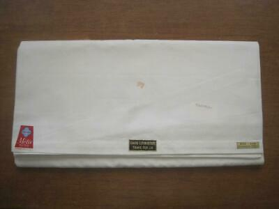 Large Unused White French Linen Metis Sheet Or Curtain, Tablecloth, Projects • 36£