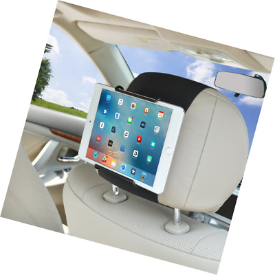 Tablet Car Mount WANPOOL Car Headrest Mount Holder For 7 - 10.5 Inch IPads And . • 25.49£