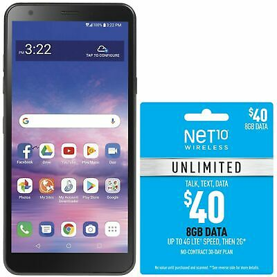 $49.99 • Buy Net10 LG Journey 4G LTE Prepaid Cell Phone W/ $40 Airtime Plan Included