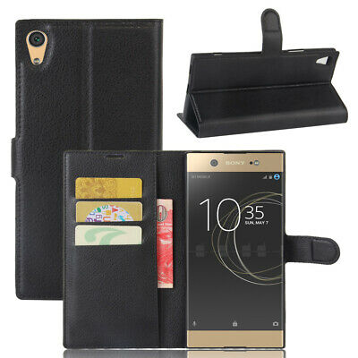 AU12.75 • Buy For Sony Xperia XA1 Ultra Flip Wallet Case/Cover/Card Holder/kirkstand/Pouch