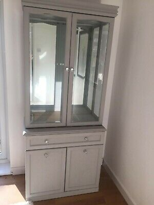 Chalk Painted Cabinet Annie Sloan Paris Grey • 100£