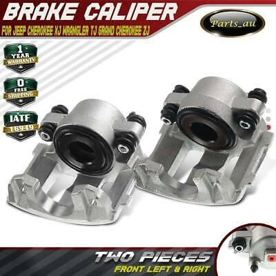 AU260.99 • Buy 2x Brake Caliper Front L + R For Jeep Cherokee XJ Wrangler TJ Grand Cherokee ZJ