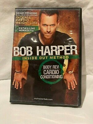 Bob Harper: Inside Out Method - Body Rev Cardio Conditioning (DVD, 2010) • 8.33£