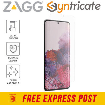 AU30.94 • Buy Samsung Galaxy S20 (6.2-inch) ZAGG InvisibleShield Ultra Clear+ Screen Protector
