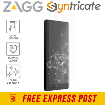 AU35.16 • Buy Galaxy S20 Ultra 5G ZAGG  InvisibleShield Ultra Clear+Clarity Screen Protector