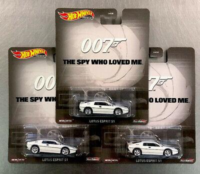 $ CDN22.07 • Buy Hot Wheels Lotus Esprit S1 The Spy Who Loved Me 007 ( Lot Of 3 ) Free Ship