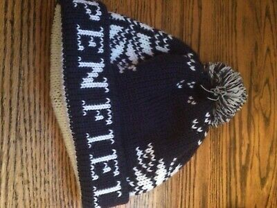 Penfield Bobble Hat One Size Navy  • 1£