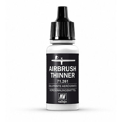Vallejo Model Air: Airbrush Thinner - Acrylic Paint Bottle 17ml VAL71.261 • 2.30£