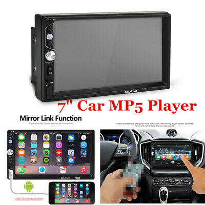 $ CDN66 • Buy 7  Inch 2 DIN Car Stereo Radio HD MP5 USB FM Player Touch Screen Mirror Link