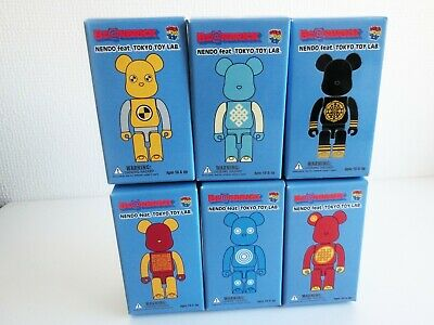 $99.98 • Buy Bearbrick NENDO Feat. TOKYO TOY LAB Limited All 6 Complete Set Be@rbrick Japan