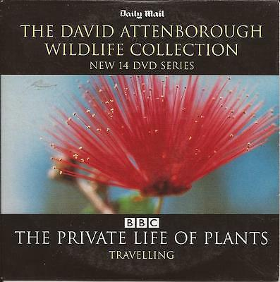 David Attenborough - THE PRIVATE LIFE OF PLANTS - TRAVELLING - DVD • 1£