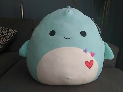 $ CDN72 • Buy Squishmallow 22  XL Canadian Exclusive Valentine Sharon The Shark Squishmallows